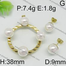 Jewelry Store Supply Pro-Quality High Quality latest design gold plated dubai gold african beads jewelry set nigerian wedding
