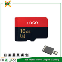 Custom cid sd card memory card 16 gb 95mb/s full capactiy memory card