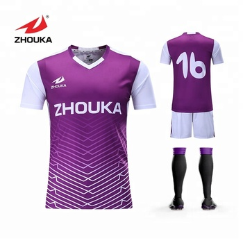 1ba0f0a351e Factory Wholesale Customize 2018 zhouka football shirt marker soccer jersey.  View larger image