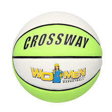 wholesale official size and weight match basketball balls for women with PU leather from manufacturer