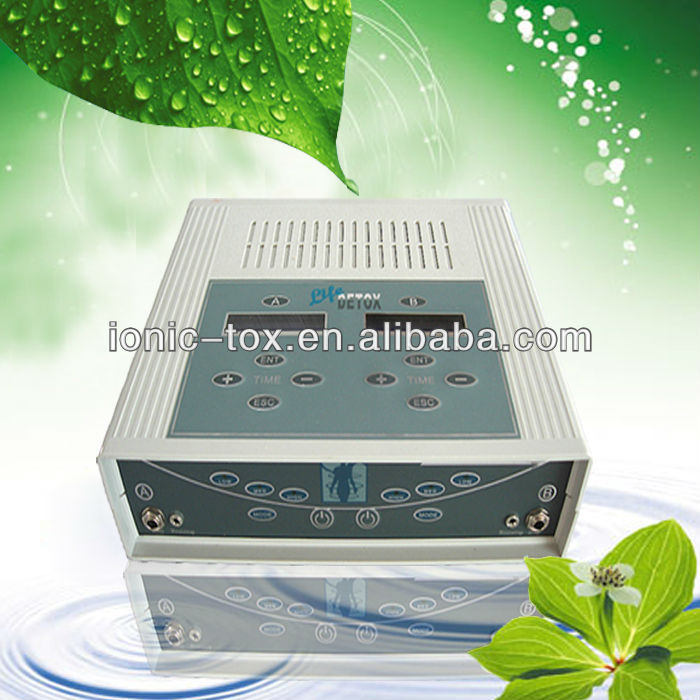 Detox Portable Foot Baths Ion Cleaning Ionic Detox Foot Machines ...