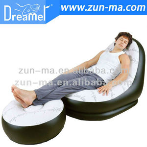 Hot Sell PVC Inflatable Relax Sofa and Chair Set