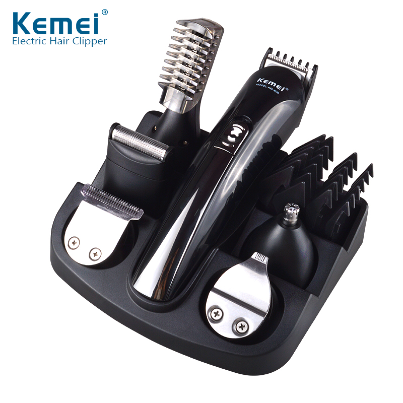 Kemei KM-600 <strong>Best</strong> Cordless Home <strong>Hair</strong> <strong>Clippers</strong> for Sale electric <strong>hair</strong> trimmer set Wholesale
