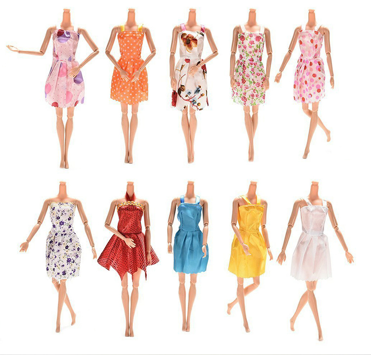 Handmade doll princess wedding dress for  1/6 dolls party clothing gift CN Puppen & Zubehör