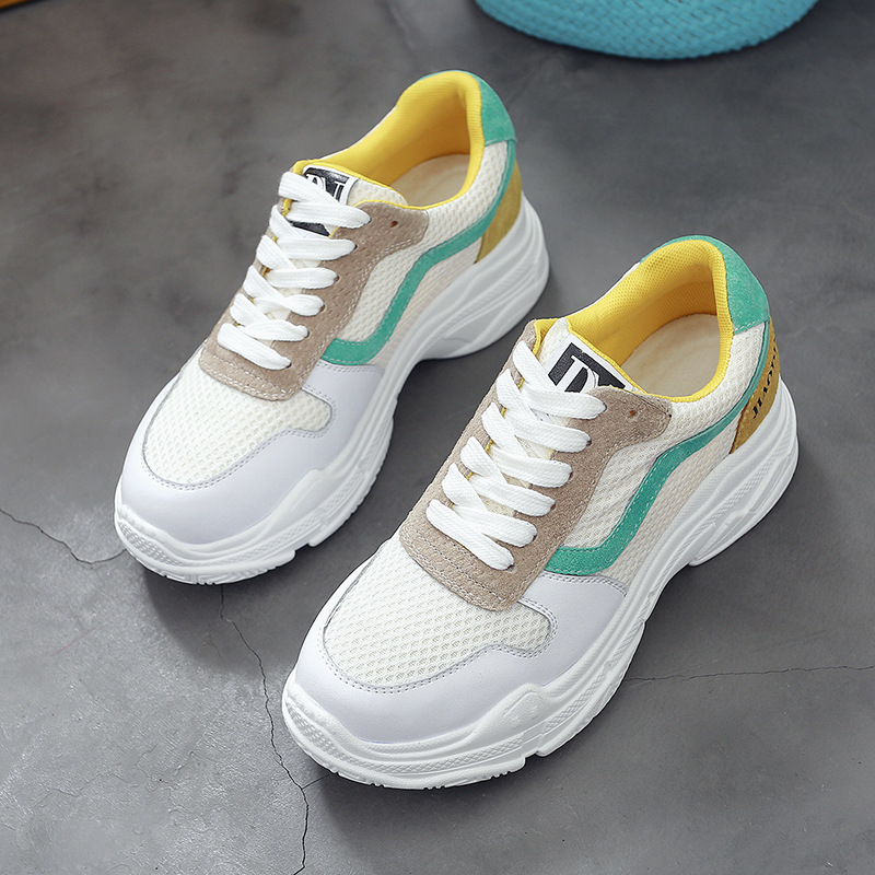 fashion shoes leather shoes genuine womens sports 2018 sneaker hottest xROqznY