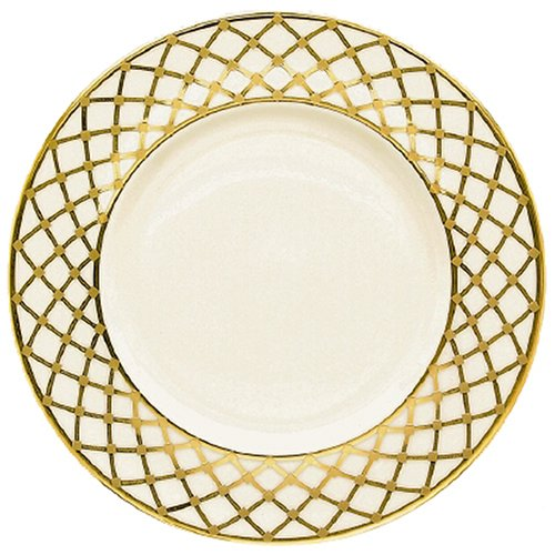Lenox Hayworth Gold Banded Ivory China 9 Accent Plate
