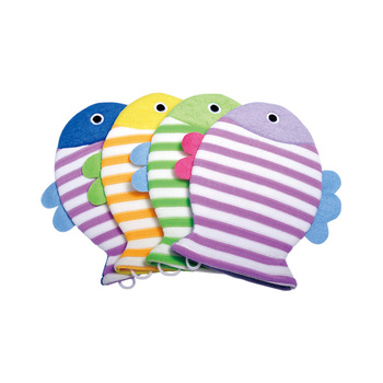 Baby Bath Glove Fish Shape