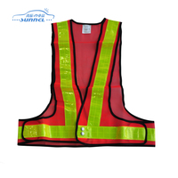 light weight safety vest fabric