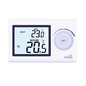 Digital Heating Thermostat with Wired