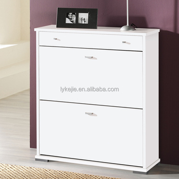 Home And Hotel Used Cheap Shoe Rack Design 2 Door White Shoe Cabinet Novel  Shoes Cabinet