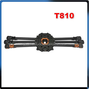 Tarot T810 Carbon Fiber Folding Rack Frame Kit /6 Axis TL810A T960A For Hexacopter Aircraft