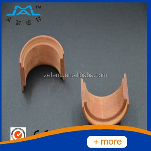 Cloth-reinforced phenolic resin oil seal