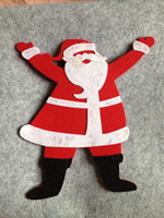 Brand new felt christmas ornament with high quality