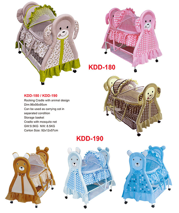 Manufacturer NEW Baby Cradle Portable Cradle Swing Baby Bed With Butterfly  Mosquito Net