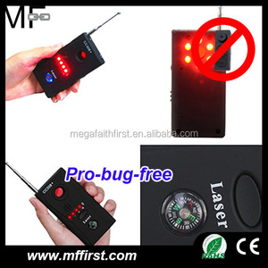full range WIFI/GPS/GSM signal finder 1.2G 2.4G wireless camera detector RF bug detector