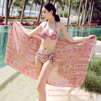High Quality Leisure Indian Beach Sarong Pareo