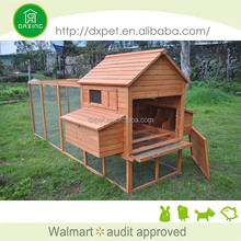 DXH016 cedar wood chicken house