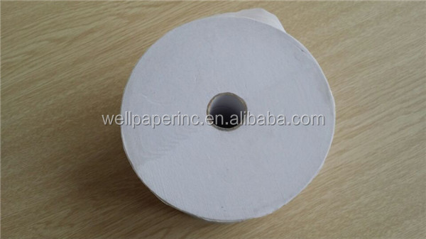 1000 sheets 1 ply recycled tissue roll toilet paper