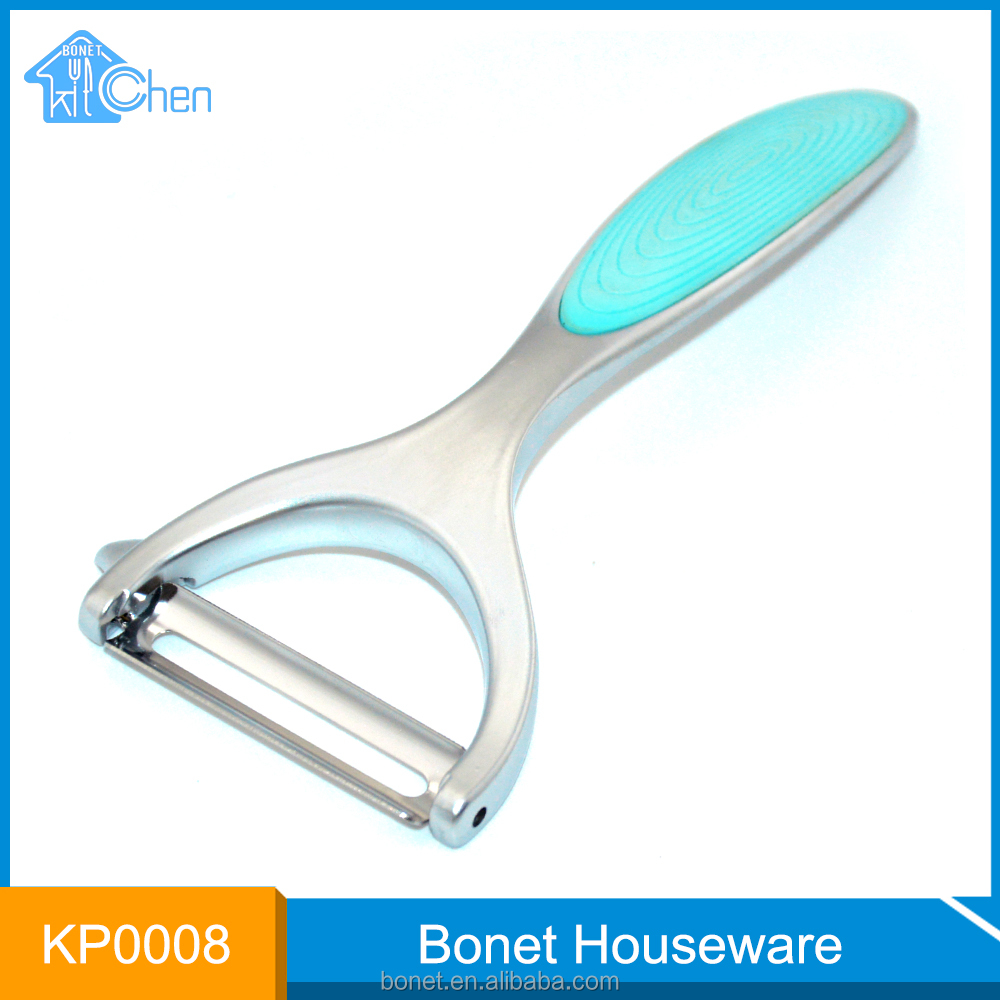 KP0008 FDA & LFGB Nouveau point sharp pourpre légumes peeler