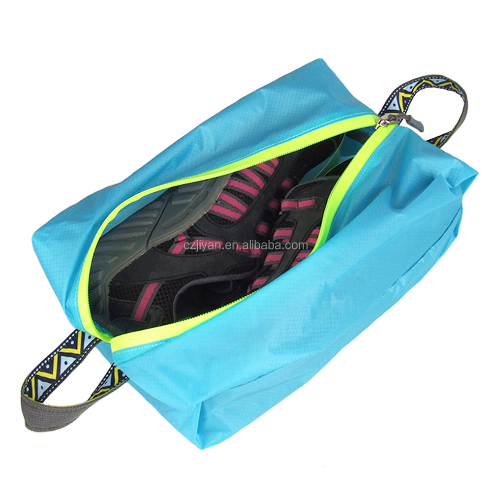 S Size Travel Kits Clothes Shoes Storage Bags Outdoor Camping Shoes Stuff Bags Hiking Outdoor Zipper Waterproof Bags