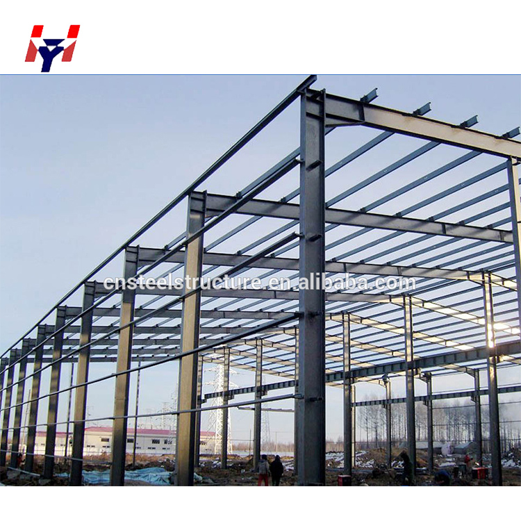 Low Cost Prefabricated Light Steel Structure Factory Material For