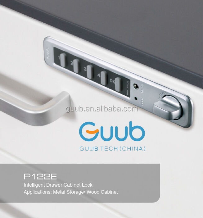 Slim Electronic Steel Cabinet Keypad Lock Digit Lock For Furniture ...