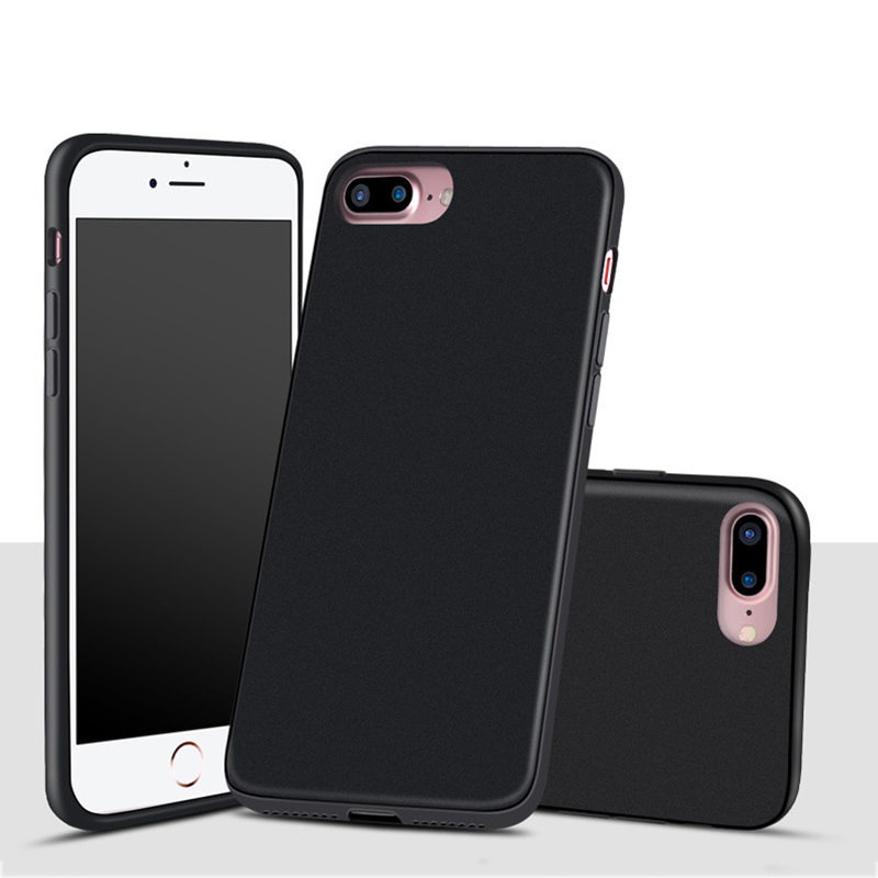 For iphone 7 plus blank hard pc case, matte surface shockproof case cover for apple iphone 7 plus