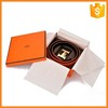 Hight quality custom luxury man belt gifts box for belts packages