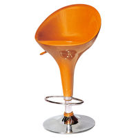 top sale ABS seat height adjustable metal bar stool supplier