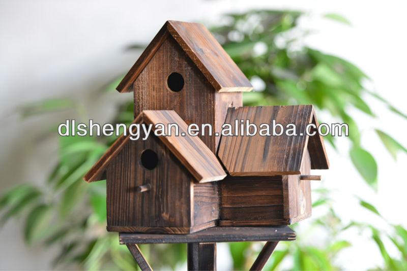 en plein air jardin maison de l 39 oiseau en bois cage oiseaux pas cher sauvage oiseau nichoir. Black Bedroom Furniture Sets. Home Design Ideas