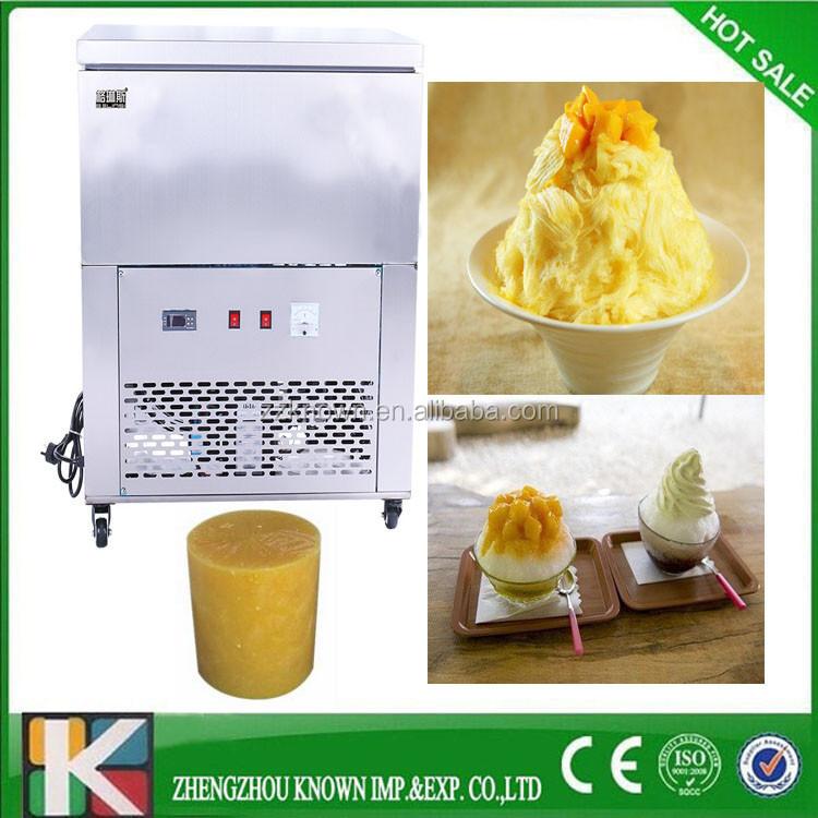 Taiwanese shaved ice maker machine, machine for making ice cream cone block  ice