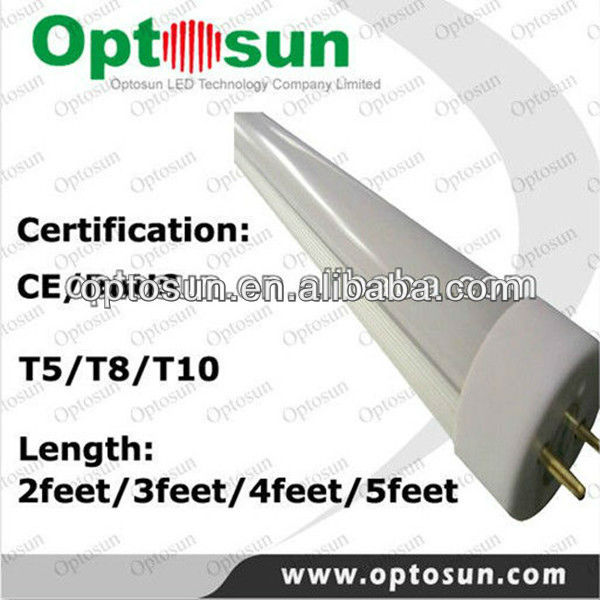 High Quality 8w T5 Led Replacement Lamp Tube