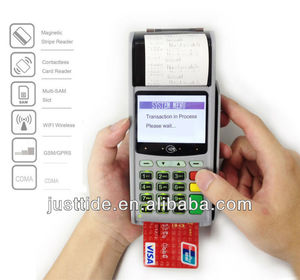 Linux handheld POS with Vertical Swiping Magnetic Card Reader 1028355721