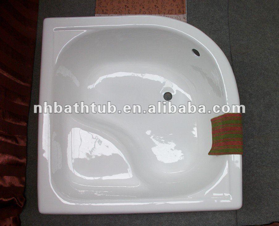 Fonte baignoire d 39 angle pas cher baignoire petite for Petit baignoire angle