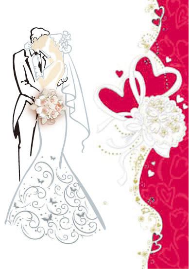 2017 Latest Design Wedding Day Greeting Cards