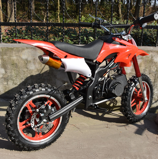 Mini Benzina Pit Bike Dirt Bike 49cc con E-start