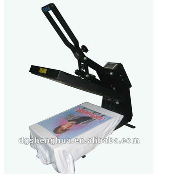 Thermo press transfer printing machine for t shirt jersey for Thermal transfer printing equipment for t shirt
