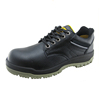 PU injection genuine leather safety shoes boots men
