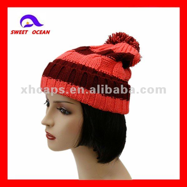 100% cotton kufi crochet beanie skull cap knit hat