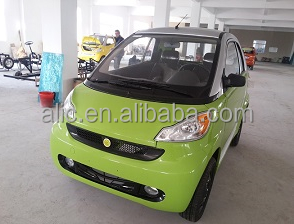 Lithium Battery Electric Smart Car Solar 2 Or 4 Doors