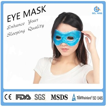 alibaba china compress massage titan gel custom silk eye mask buy