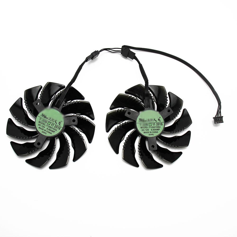 T129215SU 85mm RX580 RX570 GV-RX570 GV-RX580 GPU Graphics Card Cooling Fan
