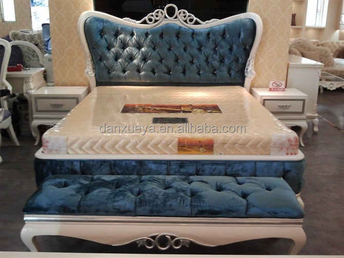 New Style Bed Design Part - 50: DXY--hot Selling Rococo Style Bed-New Classic Bedroom Furniture Bed-woden
