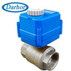 full port Silicon rubber seal motorized ball valve