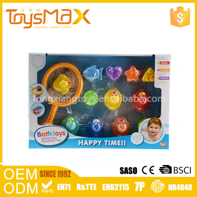 New Design Non-Toxic Baby Fishing Bath Toy