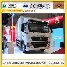 CHINA SINOTRUCK HOWO cargo truck small truck truck faw car truck wheels pick up truck price new truck algeria high up truck