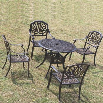 topselling bronze elizabeth cast aluminum outdoor patio furniture - Cast Aluminum Patio Furniture