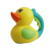 Cutr baby shower funny duck shape bathing cup bath toys