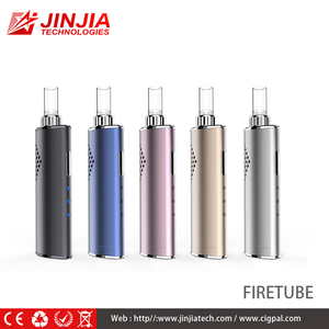 2017 3 temperature settings New Dry Herb Vaporizer FIRETUBE PORTABLE e Cig with factory price
