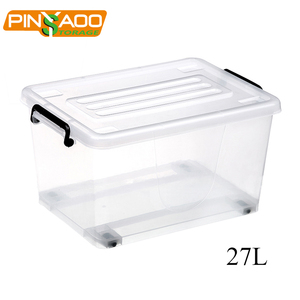 2018 New products clear plastic storage box food boxes